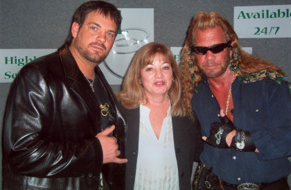 Dwayne Chapman Jr., Judy Grandmaison-Warren, Dog the Bounty Hunter