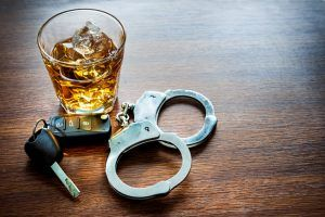 Houston dwi bail bonds keys booze handcuffs